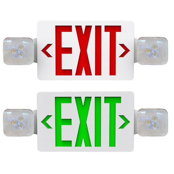 C2 Exit Sign & Combo